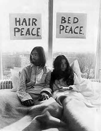 john lennon peace activist